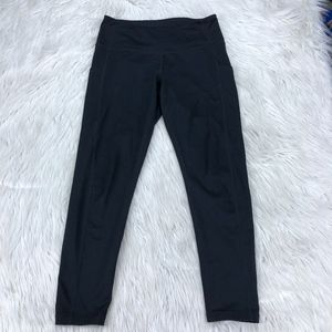 Z by Zella High Waisted Cropped Leggings W Pocket